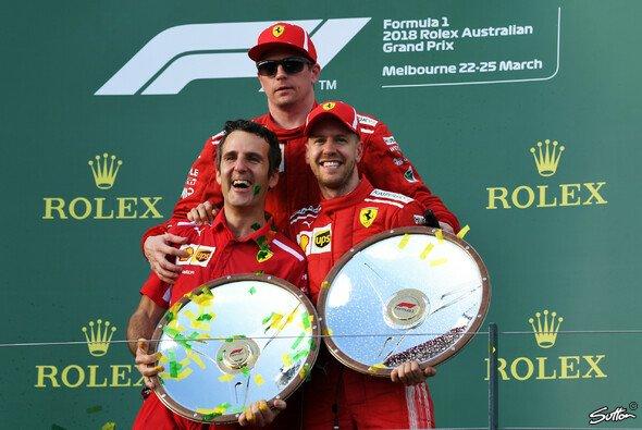 Kimi Räikkönen präsentierte sich in Australien in Top-Form - Foto: Sutton
