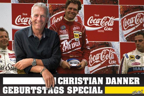 Christian Danner war nach seiner Formel-1-Laufbahn in der DTM der 1990er für Alfa Romeo erfolgreich - Foto: Sutton/Motorsport-Magazin.com