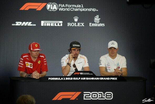 Das war die Fahrer-Konferenz der Formel 1 in Bahrain - Foto: Sutton