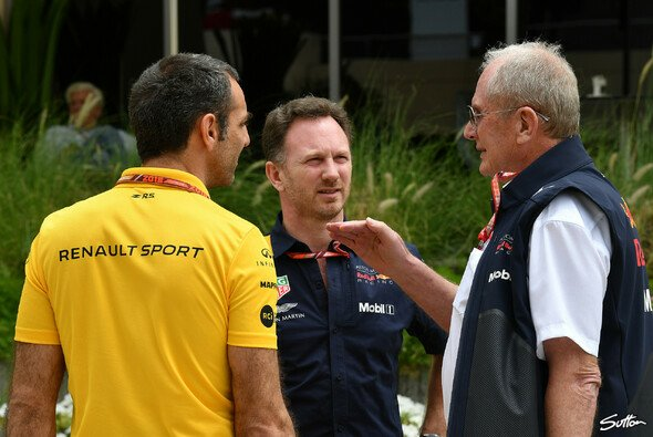 Red Bull und Renault gingen Ende 2018 alles andere als im Guten auseinander - Foto: Sutton