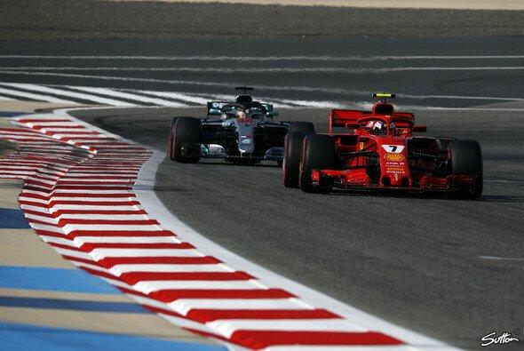 Kimi Räikkönen holte sich die Bestzeit im 3. Freien Training zum Bahrain GP - Foto: Sutton