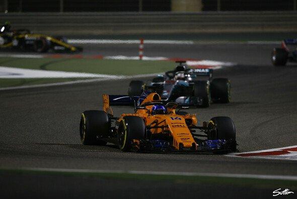 Für Fernando Alonso ist McLaren in einem Punkt 2018 schon unerreicht - Foto: Sutton