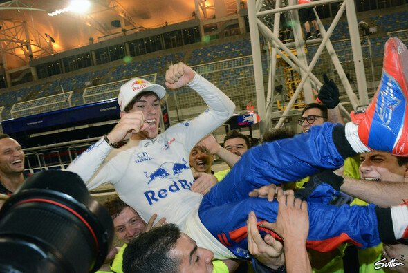Pierre Gasly war der heimliche Held in Bahrain - Foto: Sutton