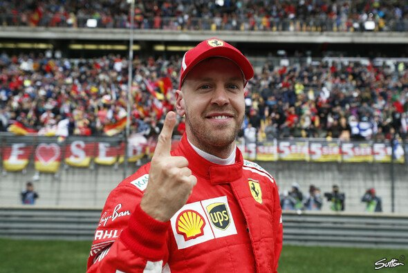 Sebastian Vettel lieferte in China ein extrem starkes Qualifying - Foto: Sutton