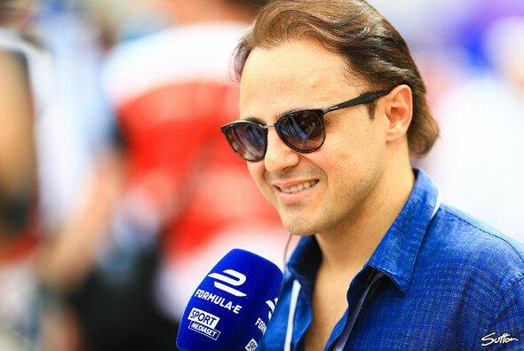 Felipe Massa war einer von vielen Promis beim Rom ePrix - Foto: Sutton