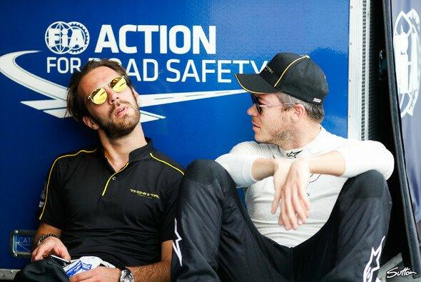 Jean-Eric Vergne und Andre Lotterer: Das ging in die Hose - Foto: Sutton