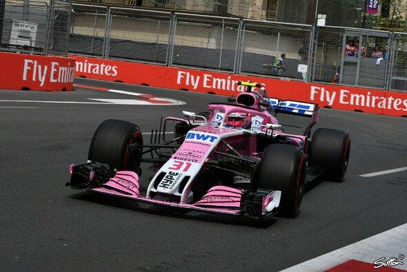 Force India ist in Baku offenbar endlich ein großer Sprung nach vorne gelungen - Foto: Sutton