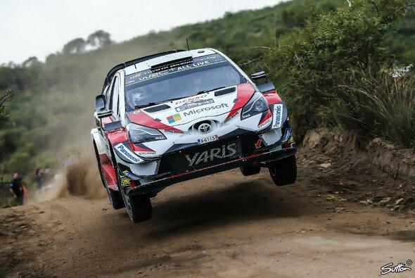 Ott Tänak bestreitet seine erste Saison für Toyota - Foto: Sutton