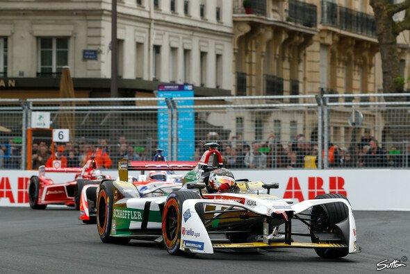 Daniel Abt landet beim Paris ePrix auf dem siebten Platz - Foto: Sutton