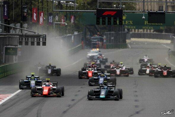 Nicholas Latifi feierte seinen zweiten Sieg in der Formel 2 - Foto: Sutton