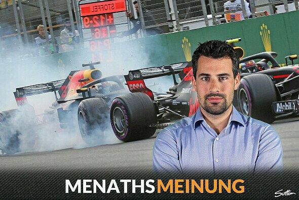 Daniel Ricciardo und Max Verstappen sorgten für den unrühmlichen Höhepunkt in Baku - Foto: Sutton/Motorsport-Magazin.com