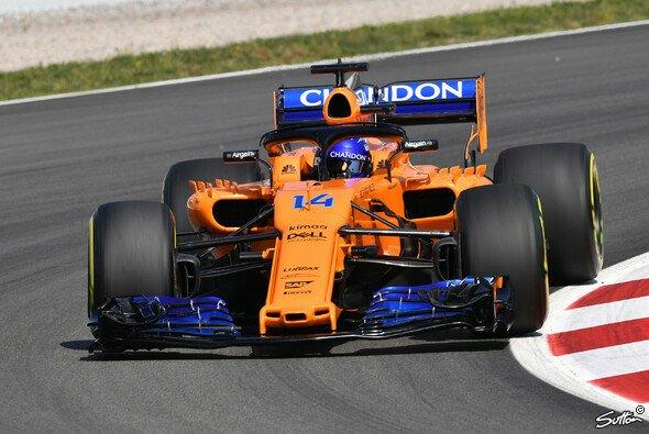 McLaren will in Barcelona mit den Updates das erste mal in der Formel-1-Saison 2018 das Q3 erreichen - Foto: Sutton
