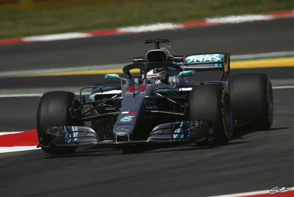 Mercedes dominierte das 1. Training zum Spanien GP in Barcelona - Foto: Sutton
