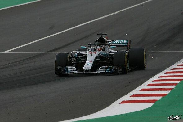 Lewis Hamilton startet in Spanien zum zweiten Mal in der Saison 2018 von der Pole Position ins Rennen - Foto: Sutton