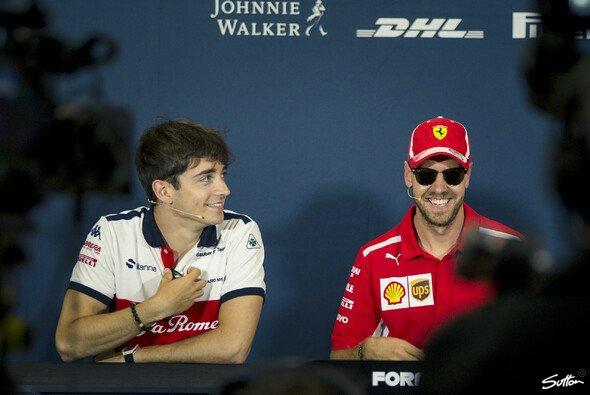 Kämpfen Leclerc und Vettel 2019 nicht nur um Punkte, sondern auch um die Sympathien bei Ferrari? - Foto: Sutton