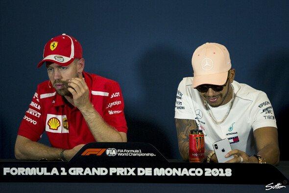 Heute beginnt in Monaco das Formel-1-Wochenende, Vettel und Hamilton in der Pressekonferenz - Foto: Sutton
