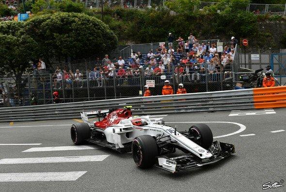 Sauber steht sich in Monaco im Weg - nach Leclerc-Dreher verpasst Ericsson Q2-Einzug - Foto: Sutton
