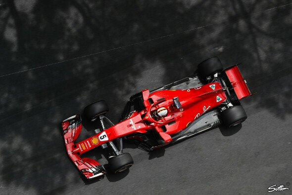 Sebastian Vettel ist durch Red Bulls Performance in den Monaco-Trainings nicht verunsichert - Foto: Sutton