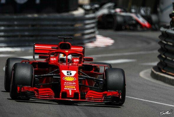 In seinem letzten Versuch konnte sich Sebastian Vettel noch Startplatz zwei schnappen - Foto: Sutton