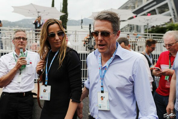 Hugh Grant in Monaco - Foto: Sutton