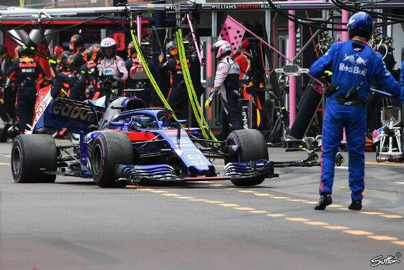 Der kaputte Toro Rosso von Brendon Hartley nach dem Monaco-Crash mit Charles Leclerc - Foto: Sutton