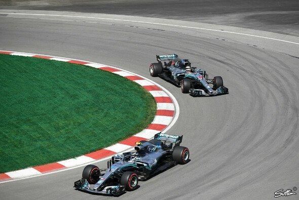 Lewis Hamilton wurde die Haarnadel in Montreal zum Verhängnis - Foto: Sutton