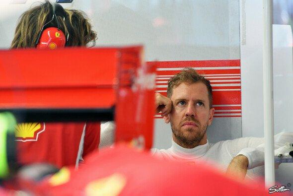 Für Sebastian Vettel hieß es im Kanada-Training lange Zeit: Warten! - Foto: Sutton