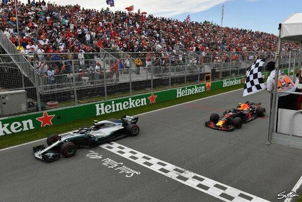 Max Verstappen fuhr in Kanada auf einen starken dritten Platz - Foto: Sutton
