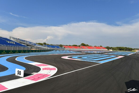 Auf dem Circuit Paul Ricard sind theoretisch 247 verschiedene Streckenvarianten möglich - Foto: Sutton
