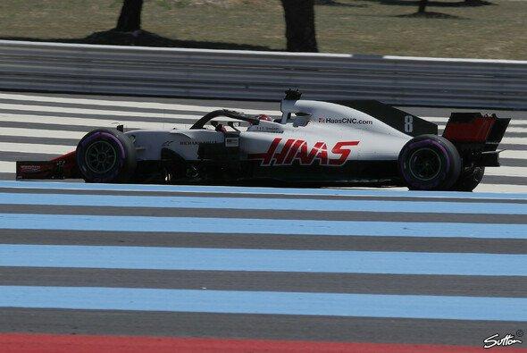Romain Grosjean hatte für seinen Unfall im Frankreich-Qualifying keine Erklärung - Foto: Sutton