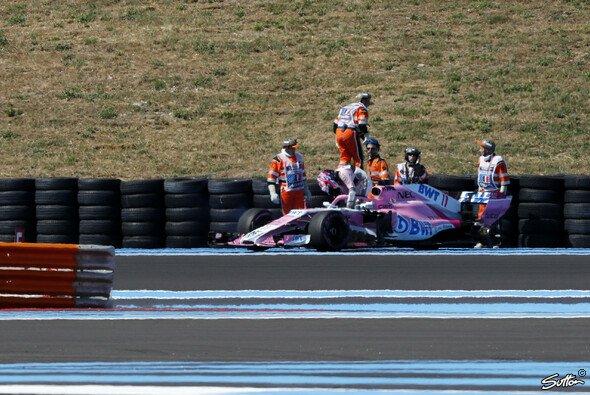 Force India wurde für den Radverlust an Sergio Perez' VJM11 in Frankreich von der FIA nicht bestraft - Foto: Sutton