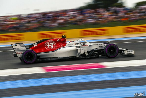 Q3 für Charles Leclerc - morgen wird er beim Frankreich-GP von Startplatz 8 aus ins Rennen gehen - Foto: Sutton