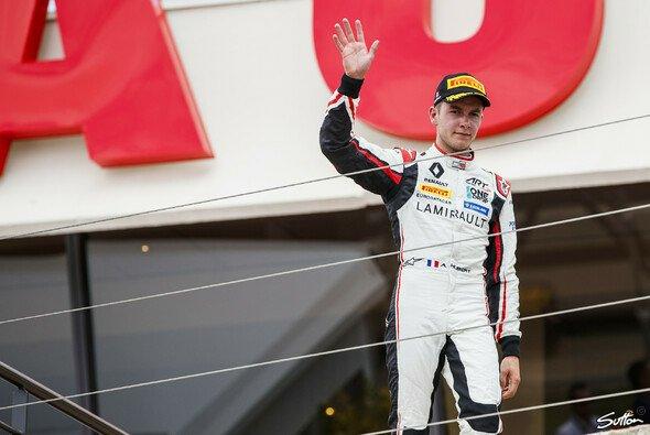 Anthoine Hubert ist der letzte Champion der GP3 - Foto: Sutton