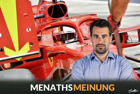 Sebastian Vettels Strafe ist hart - aber richtig - Foto: Sutton