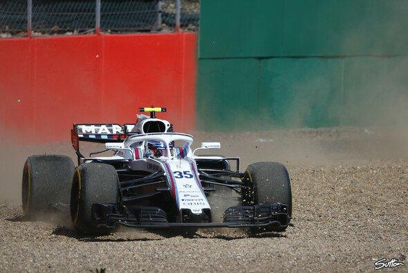 Williams wirbelte in Silverstone die Kiesbetten ordentlich durch - Foto: Sutton