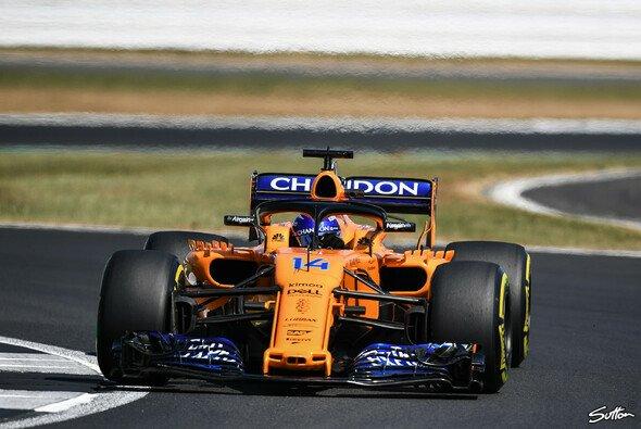 Fernando Alonso schaffte in Silverstone im Training ein Mini-Comeback, Platz 6 und bester Mittelfeld-Pilot - Foto: Sutton
