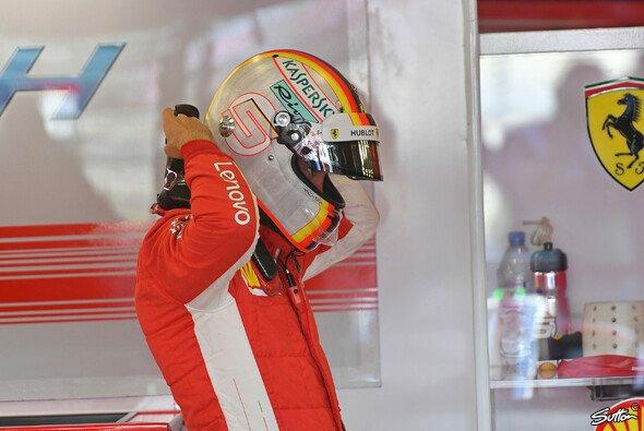 Sebastian Vettels Nacken der Nation hielt im Qualifying - auch im Rennen? - Foto: Sutton