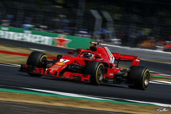 Kimi Räikkönen fuhr im Silverstone-Qualifying auf P3 - Foto: Sutton