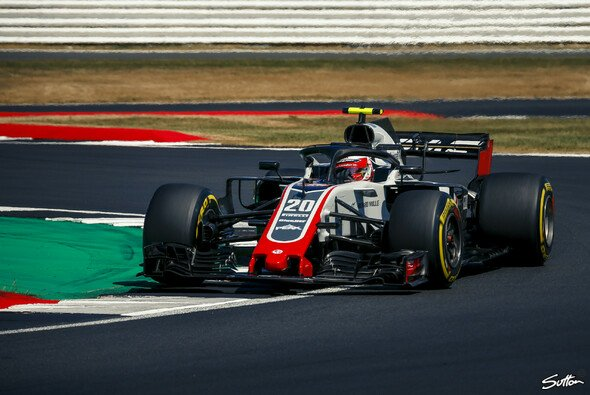 Ferrari-Kunde Haas war bei der Qualifikation in Silverstone die unangefochtene Nummer eins im Mittelfeld - Foto: Sutton