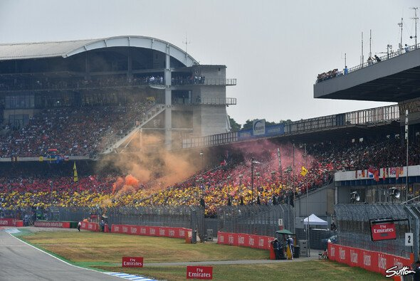 Der Deutschland GP auf dem Hockenheimring soll auch 2019 wieder zum Fan-Fest werden - Foto: Sutton