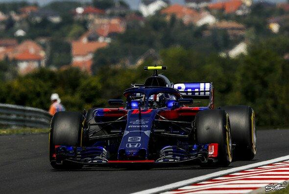 Pierre Gasly katapultierte den Toro Rosso in Ungarn mal wieder zurück in die Top-10 - Foto: Sutton