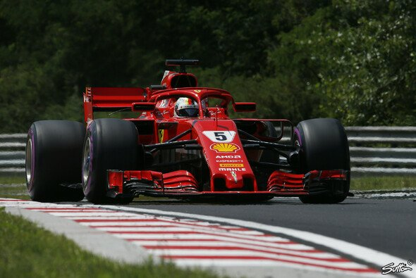 Sebastian Vettel hat im FP3 die Bestzeit erzielt - Foto: Sutton