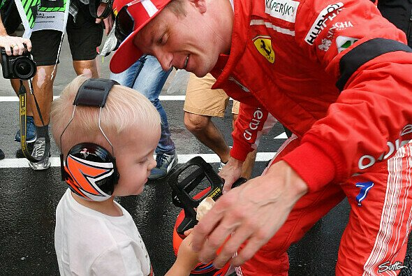Robin und Kimi Räikkönen (Archiv) - Foto: Sutton