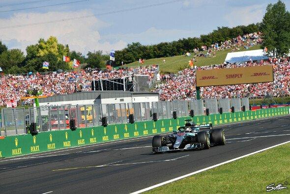 Lewis Hamilton hat in Ungarn seinen fünften Sieg in der Formel-1-Saison 2018 gefeiert - Foto: Sutton