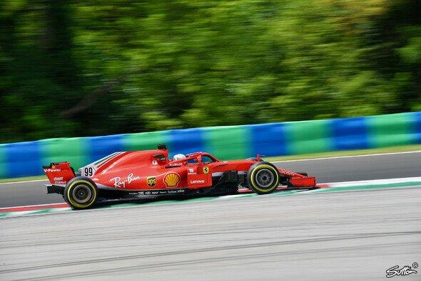 Ferrari-Junior Antonio Giovinazzi fuhr beim Test schneller als Sebastian Vettel am Rennwochenende - Foto: Sutton