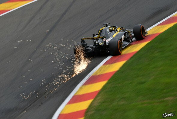 Nico Hülkenberg und Renault überraschten sich im Spa-Training mit starker Pace selbst - Foto: Sutton