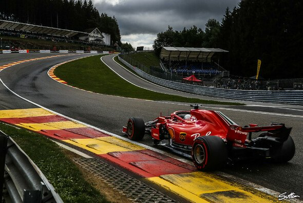 Die Eau Rouge ruft! Heute Belgien GP in Spa - Foto: Sutton