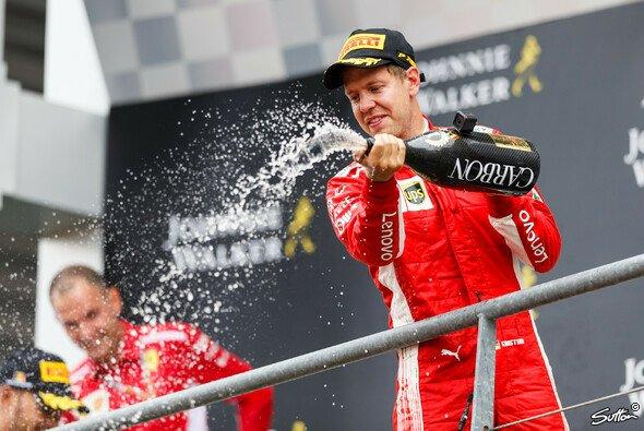 Heute im Live-Ticker: Das Rennen der Formel 1 in Spa, Vettel dominiert Belgien-GP - Foto: Sutton