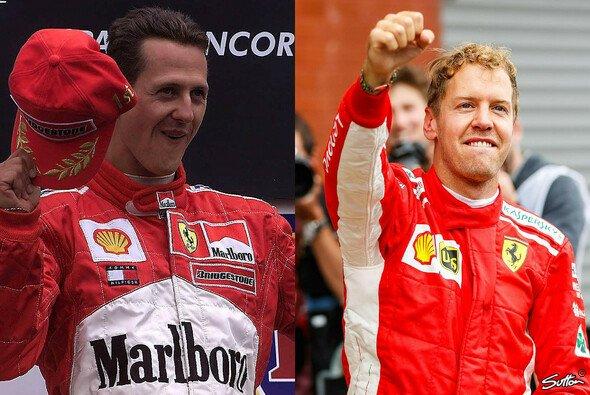 Sebastian Vettel übertrumpfte wie einst Michael Schumacher in Spa Alain Prosts Siegrekord - Foto: LAT Images/Sutton/Motorsport-Magazin.com