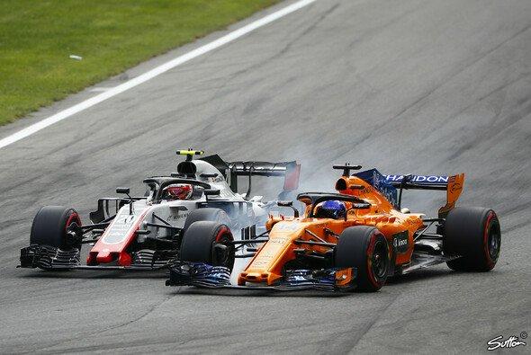 Fernando Alonso und Kevin Magnussen hatten sich im Monza-Qualifying wieder in den Haaren - Foto: Sutton
